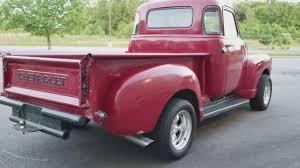 1949 Chevy 3100 5 Window 454 engine - YouTube
