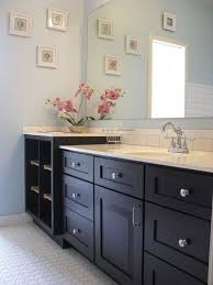 white bathroom cabinets with dark countertops. bathroom wall color with dark cabinets white countertops e