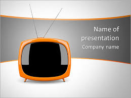 tv powerpoint templates small tv set powerpoint template backgrounds id 0000006807