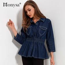 Casual Denim Jacket Women <b>2018 Autumn New</b> Arrivals <b>Fashion</b> 3 ...
