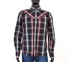 Womens Levi Jeans Size Chart Uk Details About W Levis Mens Shirt Tailored Checks Black Size L