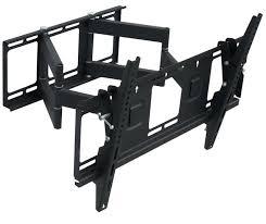 tv mounts full motion heavy duty dual arm inch led monitor wall mount best