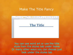 Make A Title Page In Word Magdalene Project Org