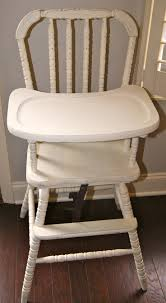best  vintage high chairs ideas on pinterest  wooden baby high