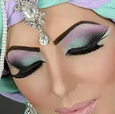 arabic party wear bridal eye face makeup tutorial