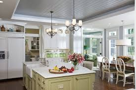 How To Decorate A Tray Ceiling tray ceiling kitchen Design Decoration 61
