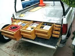 diy truck bed slide truck bed slide out tray truck bed slide out how to install