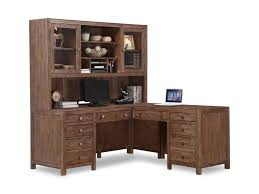 L shaped desks for home office Desk Set Hampton Home Office Group Rustic Lshaped Desk And Hutch With Lockable Cabinets And Keyboard Trays By Flexsteel Wynwood Collection Pilgrim Furniture City Flexsteel Wynwood Collection Hampton Home Office Group Rustic