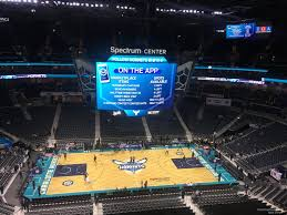Charlotte Hornets Interactive Seating Chart Spectrum Center Section 226 Charlotte Hornets