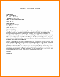 Resume Cover Letter Examples Good Resume Format