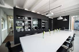 Moderne Büro Objekt Einrichtung In Schwarz Weiß, Schreinerei Wiedmann,  Inneneinrichtung, Büro Küche
