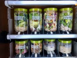 Salad Vending Machine Chicago Classy Farmer's Fridge Reboots The Vending Machine With Fresh Healthy