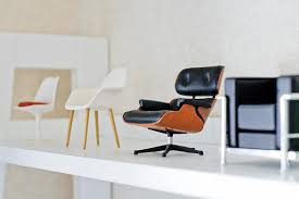 modern miniature furniture. Tiny Versions Of Bigger Things September 2009 Eames Chairs . Miniature Furniture. Modern Furniture