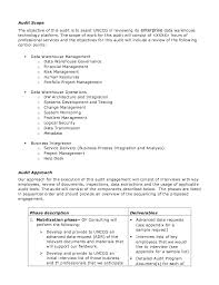Audit Engagement Letter Sample Template Unique Sample Audit Plan