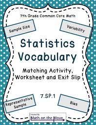 best ekonometri images statistics college life introduce statistics vocabulary by having students draw on prior knowledge and root words