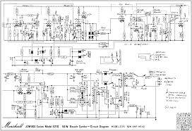 guitar amplifier schematics guitar nucleus jcm800 4210 combo schematic