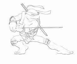 Teenage Mutant Ninja Turtles Coloring Pages And Ninja Turtle