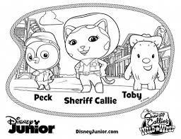 Disney Junior Color Pages