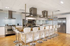 White Kitchens With Islands Black And White Kitchen Kitchen Islands With Seating High Silver