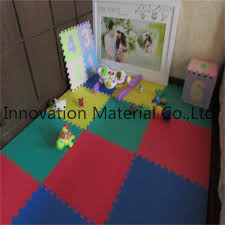 environmental eva interlocking floor rubber puzzle mat