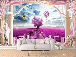 WDBH Custom Photo 3d Wallpaper Lavender ...