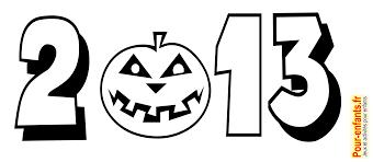 Halloween 2013 Dessin Date Imprimer Dessins Citrouille Coloriage