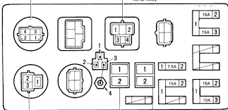 toyota land cruiser i am looking for a fuse box diagram series graphic