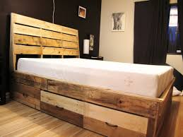 most seen inspirations featured in surprising wood pallet bed frame design ideas