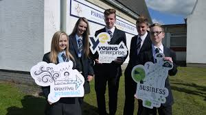 parkhall students get a head start in business young enterprise ni parkhall integrated college students morgan little georgie houston jamie kelly cameron