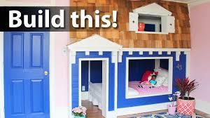 House Bunk Bed Playhouse Bunk Beds Beds Decoration