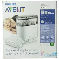 Máy tiệt trùng bình sữa Avent 4 IN 1 SCF286/05 giá rẻ duy nhất Babymua Shop