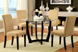 Glass Kitchen Tables Round Accessories Glamorous Small Round Kitchen Dining Table Set Cool