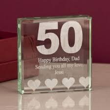 50th birthday keepsake image