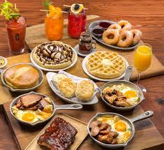 Watch The Sunrise And Mack On Some Brunch In The Capital Dessert Buffet