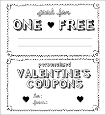 Coupon Format Template 28 Homemade Coupon Templates Free Sample Example Format
