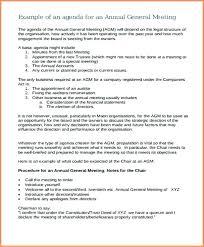 Agenda Format Sample Sample Board Meeting Agenda Template Board Meeting Agenda