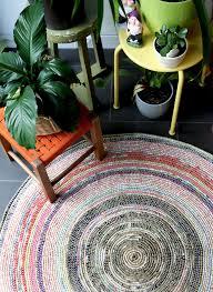 coil crochet rug