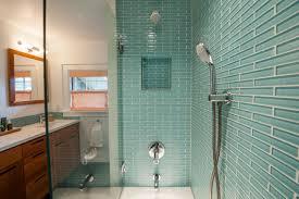 photos brilliant bathroom glass tile shower