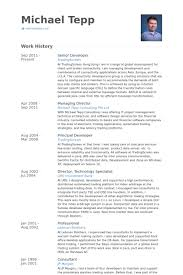 perl programmer resume senior developer resume samples visualcv resume samples database