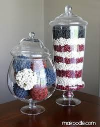 Apothecary Jars Decorating Ideas 100 Cute DIY Patriotic Decorating Ideas 98