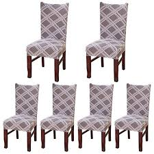 paracity chair cover universal stretch spandex elastic chair protector seat covers removable washable slipcovers for wedding