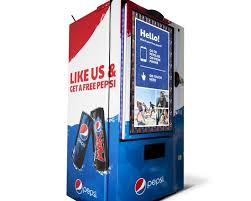 Pepsi Social Vending Machine Classy Win Or Bin Pepsi The 'Like Machine' I See I Say