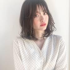 韓国ヘア ロブ タンバルモリ ミディアムramie Ginza 武原 マリア