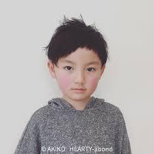 ナチュラル 子供 ショート メンズhearty Akiko Hearty 124178hair