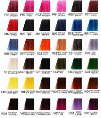Ion Brights Hair Color Chart Www Bedowntowndaytona Com