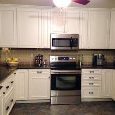 River White Granite White Cabinets Backsplash Ideas Cupboards
