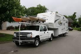 Custom Aluminum Kayak Rack For A Chevy Truck | RyderRacks ...