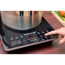 Bếp hồng ngoại Sunhouse SHD6005 5 chế độ nấu, nấu được tất cả các loại nồi  (Hàng trưng bày)