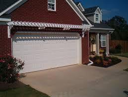 a garage arbor