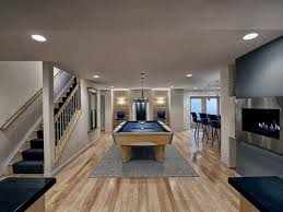 basement pool table.  Basement Basement Remodeling Pool Table Fireplace And Kitchen In